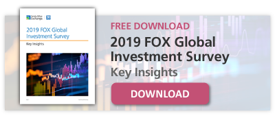 Free Download: 2019 FOX Global Investment Survey Key Insights