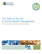 The State of the Art in Family Wealth Management