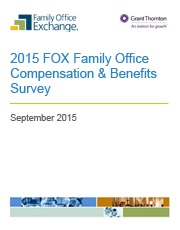 2015 FOX Family Office Compensation & Benefits Report