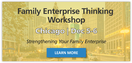 Family Enterprise Thinking Workshop 2018