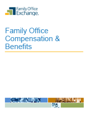 Family Office Compensation & Benefits