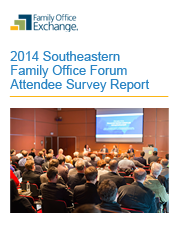 2014 Southeastern Family Office Forum Attendee Survey Report