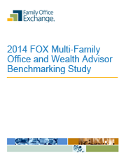 2014 FOX Multi-Family Office and Wealth Advisor Benchmarking Study Report