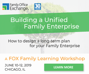 2019 Family Enterprise Workshop