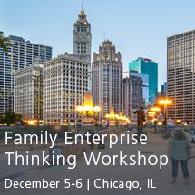 Family Enterprise Thinking Workshop 2018
