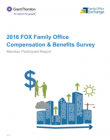 2016 FOX Family Office Compensation & Benefits Report